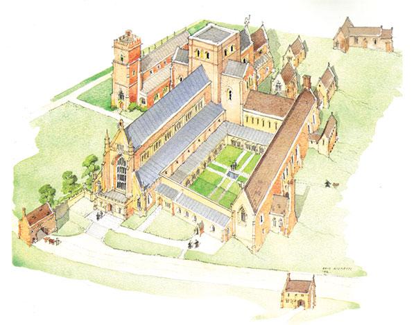 Abbotsbury history - The Abbey