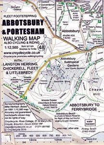 Abbotsbury and Portesham Walking Map