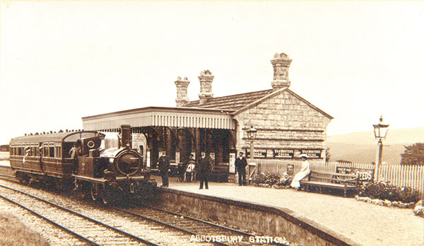 Abbotsbury history - The Railway Station