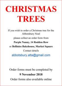 Christmas tree order form