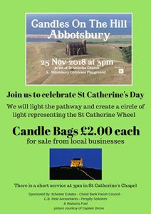 Abbotsbury Candles on the Hill
