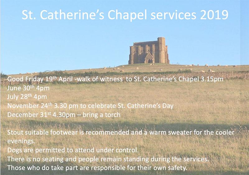 St Catheriine's Chapel, Abbotsbury 2019