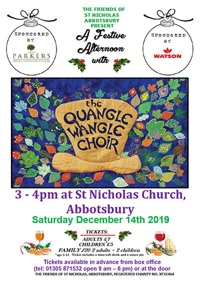 Quangle Wangle Choir - Abbotsbury