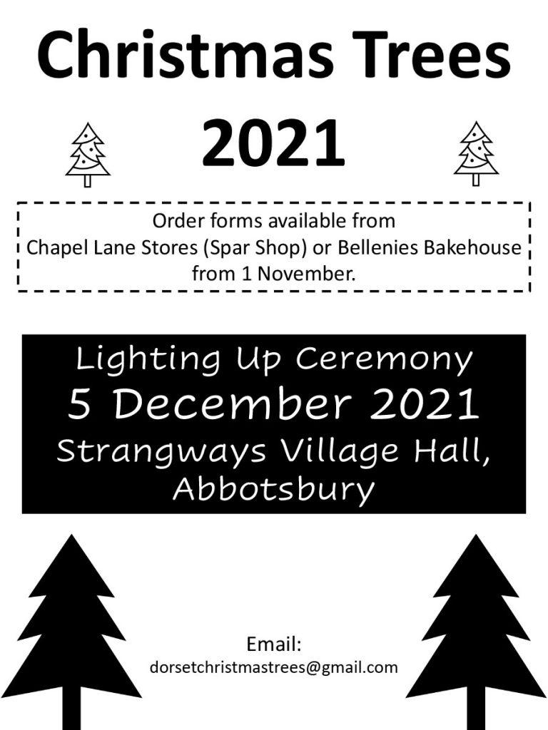christmas trees advert, Abbotsbury